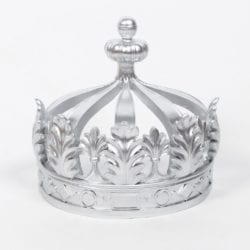 Silver or Gold Crown Bed Canopy Holder