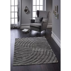 OHI Dalmarnock Rug 100% Polyester - Available in Multiple Sizes & Colours