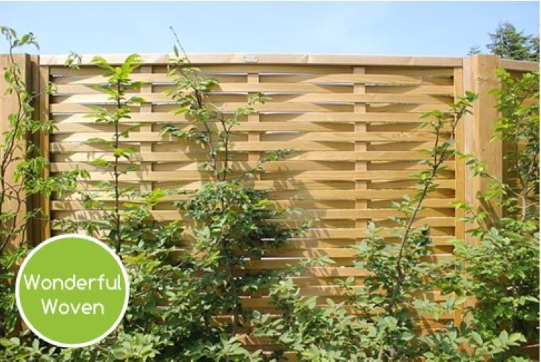 Woven fencing Online Home Improvements