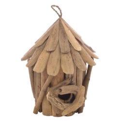 Driftwood Bird House Ornament