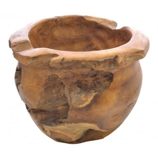 Reclaimed Teak Wooden Bowl