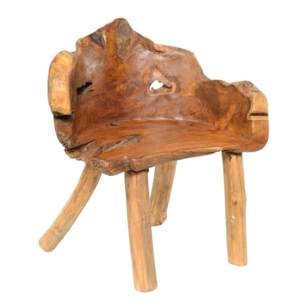 Reclaimed Teak Wooden Armchair