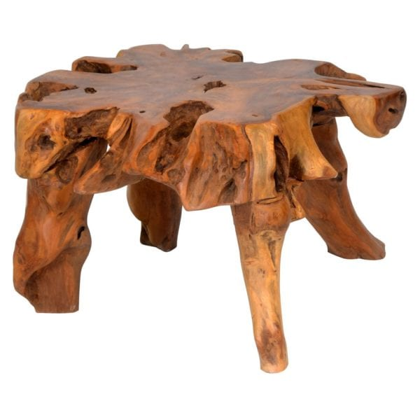 Reclaimed Teak Small Wooden Coffee Table