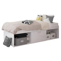 Louden Single Storage Bed - Available in a Choice of Colours