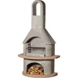 Buschbeck Carmen Masonry Barbecue in Natural Grey & Terracotta