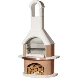 Buschbeck Toscana Masonry Barbecue in Terracotta & White