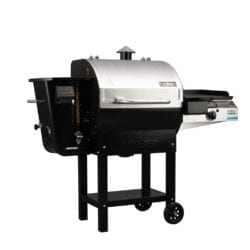 Woodwind 24 Pellet Barbecue Grill with Sidekick Grill, Temperature Controller & Wifi