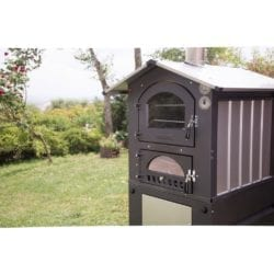 Fontana Gusto Wood Fired Portable Outdoor Pizza Oven