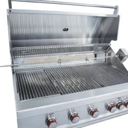 Sunstone Ruby Series 5 Burner Gas Barbecue Grill with Infrared