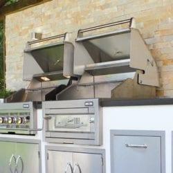 """Sunstone 30"""" Gas Hybrid Single Zone Barbecue Grill"""