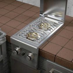 Sunstone Double Gas Side Burner