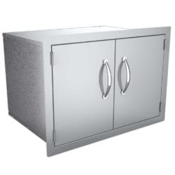 Sunstone Double Stainless Steel Dry Storage Cabinet