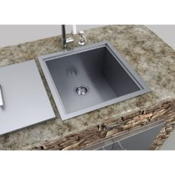 Sunstone Stainless Steel Sink with Cover