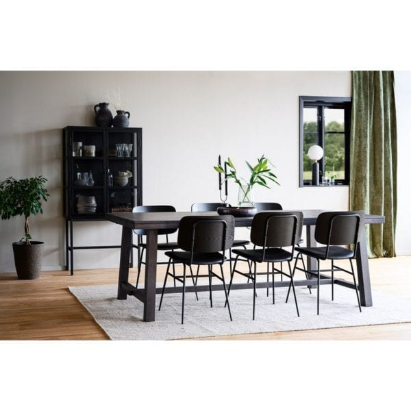 Bellingham Solid Oak Extendable Kitchen Dining Table in Cocoa Brown - Available in a Choice of Sizes
