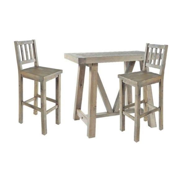 St Leonards Chunky Reclaimed Wood Bar Table