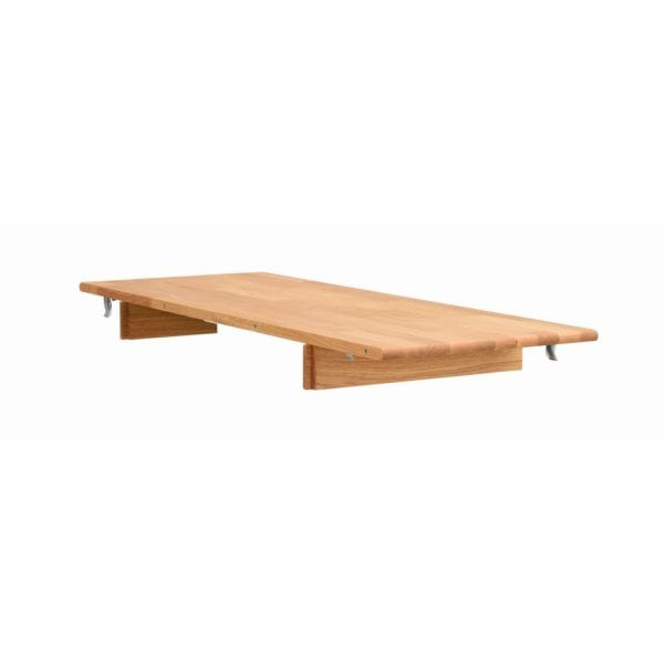 Terrance Oak Wood Extension Leaf for Oval Kitchen Dining Table
