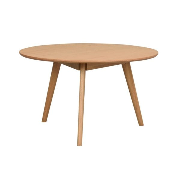 Yamara Modern Round Wooden Coffee Table - Available in a Choice of Colours