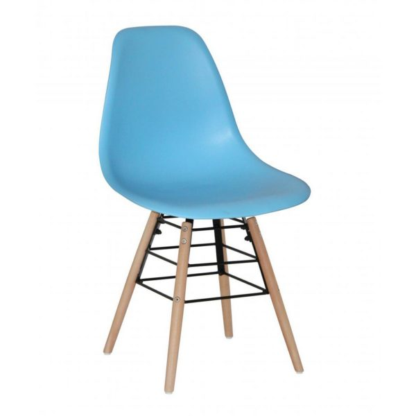 Libby Dining Chairs with Solid Beech Legs - Set of 4 - Available in a Choice of Colours
