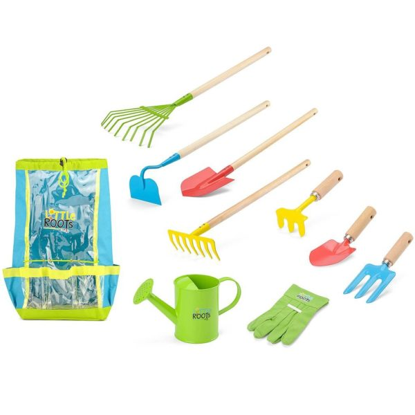 Little Roots Children's Garden Tool Set & Backpack
