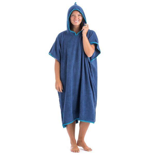 UB Adult 100 % Cotton Towel Poncho