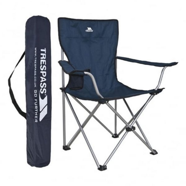 Trespass Settle Camping Chair with Carry Bag