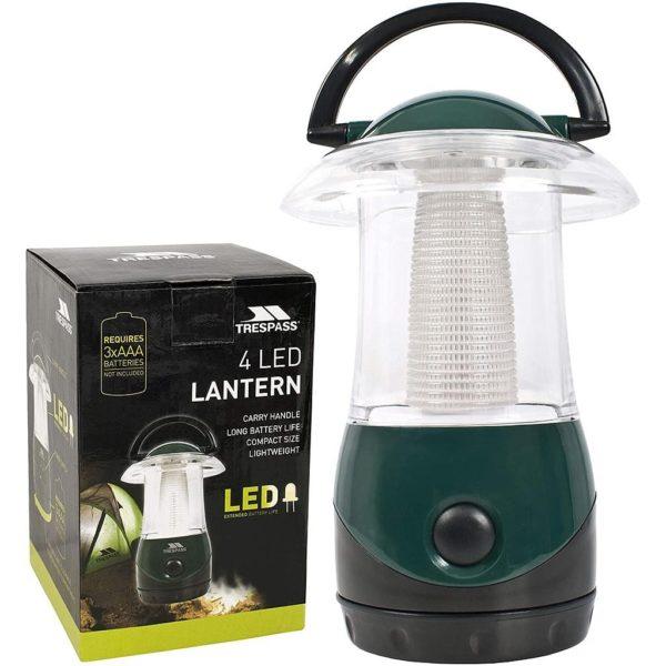 Trespass Embers 4 LED Carry Lantern
